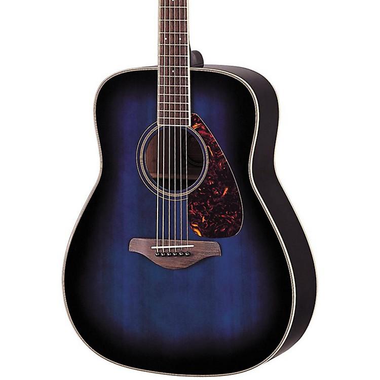 YamahaFG720S Acoustic GuitarOcean Blueburst