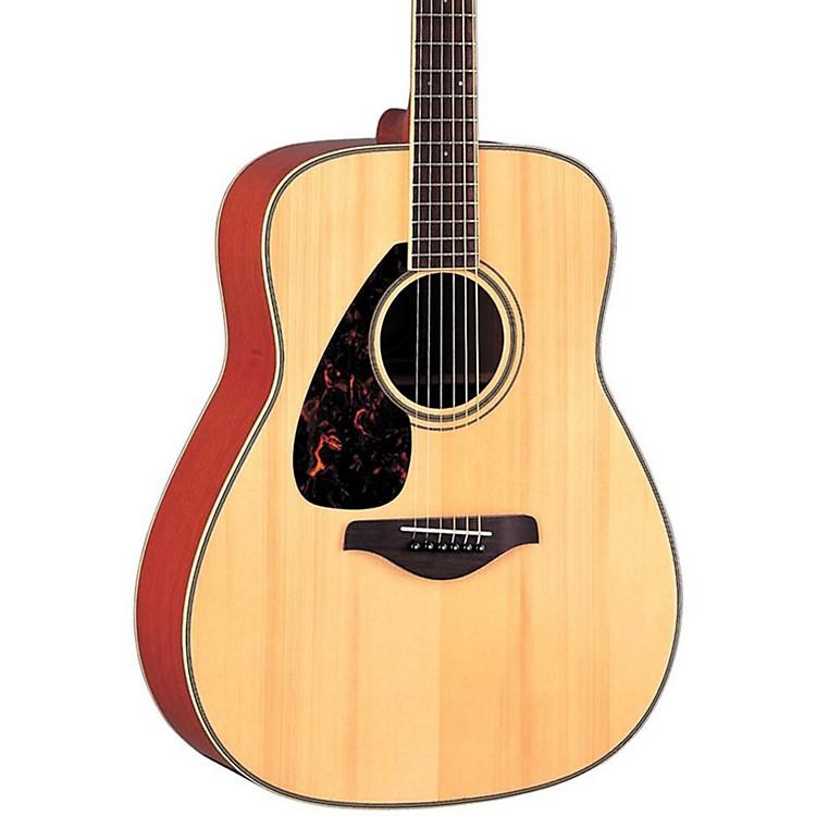 YamahaFG720SL Left-Handed Folk Acoustic GuitarNatural