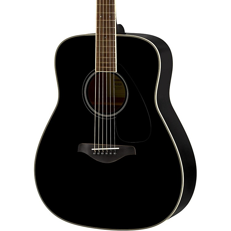 YamahaFG820 Dreadnought Acoustic GuitarBlack