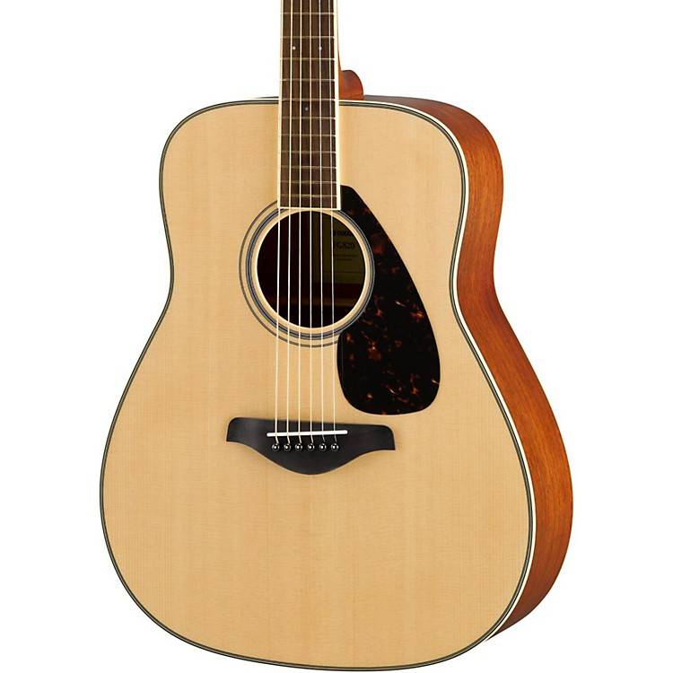 Yamaha FG820 Dreadnought Acoustic Guitar Natural