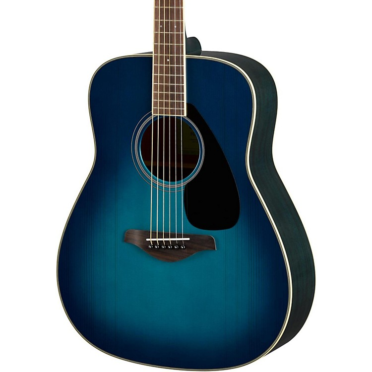 YamahaFG820 Dreadnought Acoustic GuitarSunset Blue