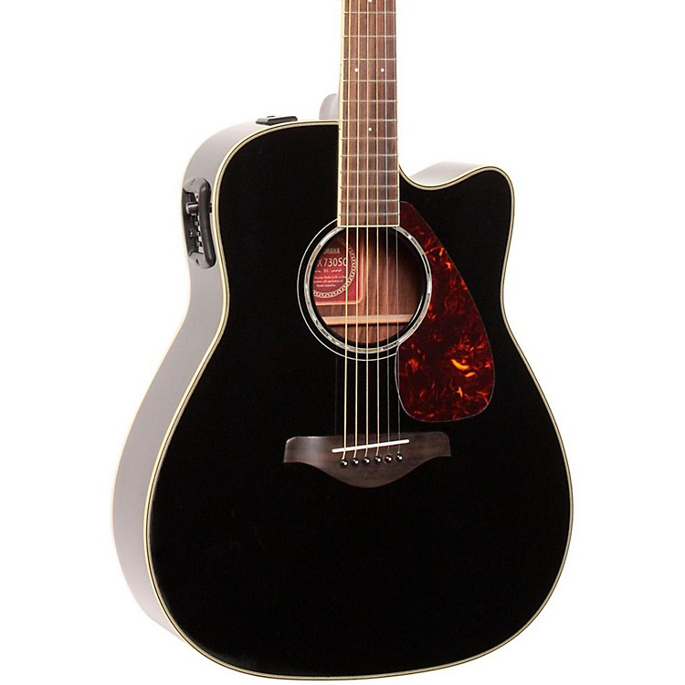 Yamaha FGX730SC Solid Top Acoustic-Electric Guitar