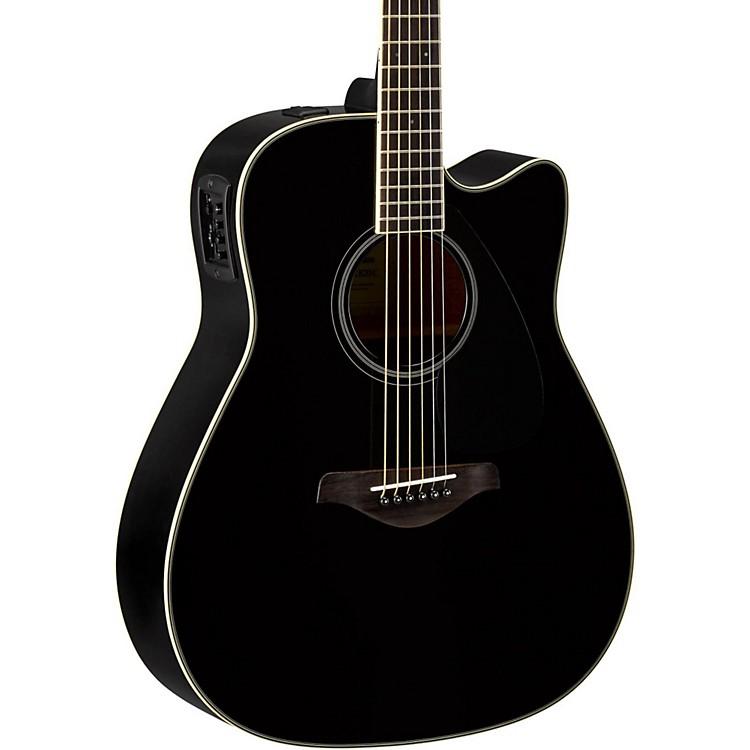 YamahaFGX820C Dreadnought Acoustic-Electric GuitarBlack