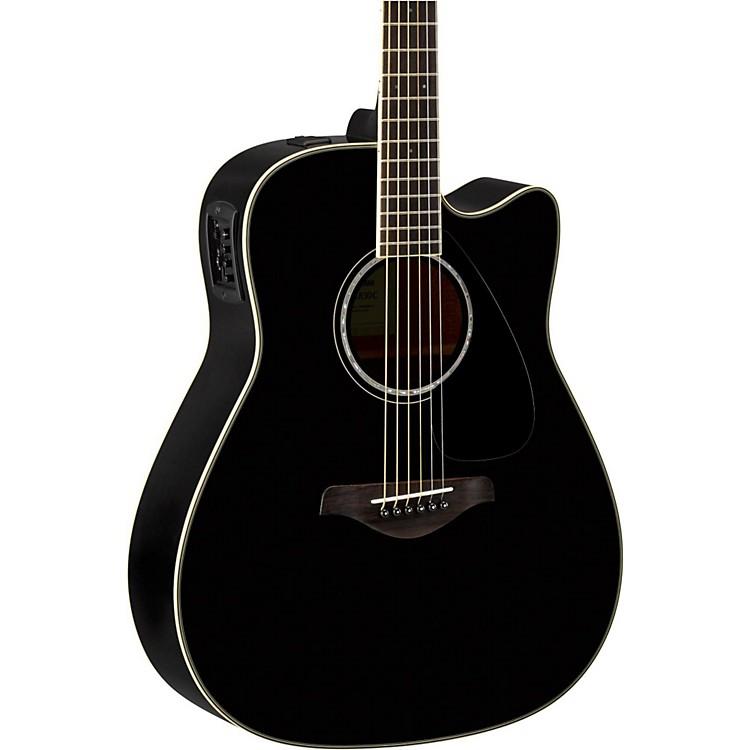 YamahaFGX830C Folk Acoustic-Electric GuitarBlack