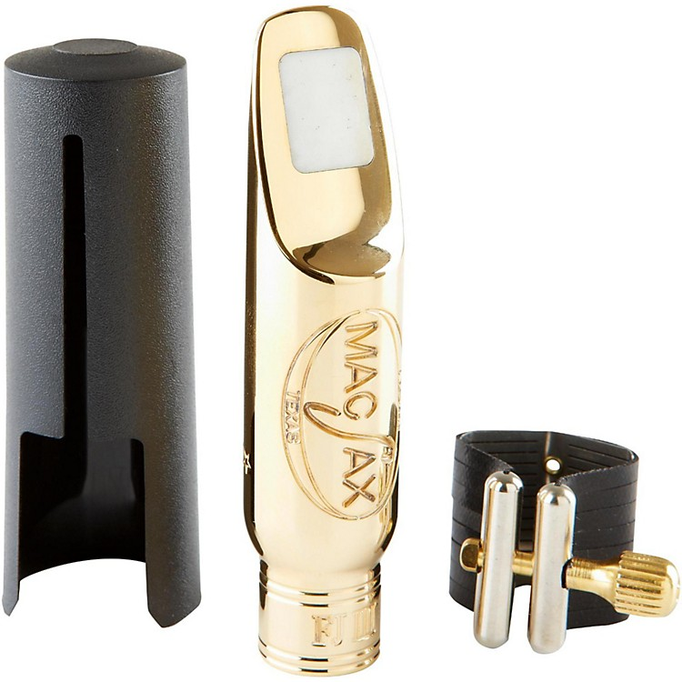 MACSAX FJ-III Gold Plated Tenor Saxophone Mouthpiece 8