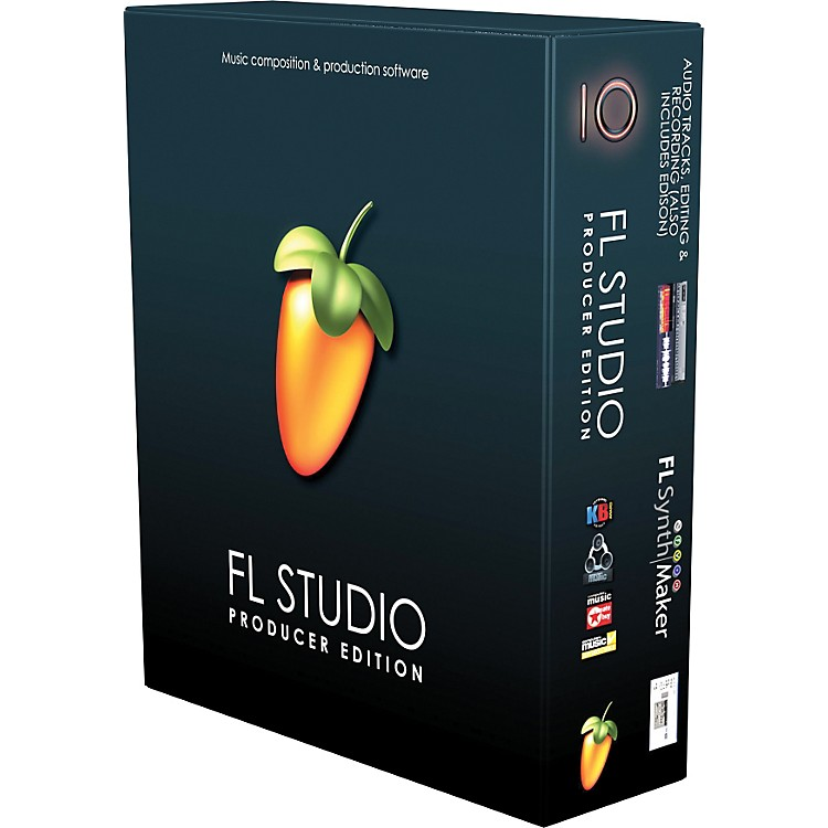 Image Line FL Studio 10 Producer Edu 1-User with Free Upgrade to Version 11