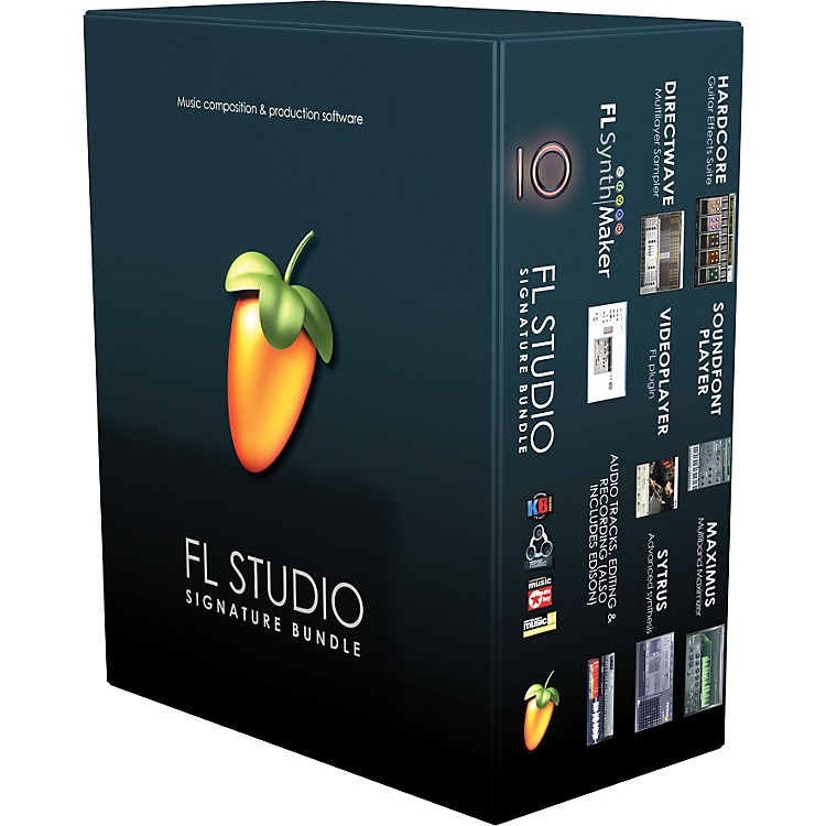 Image Line FL Studio 10 Signature Bundle with Free Upgrade to Version 11