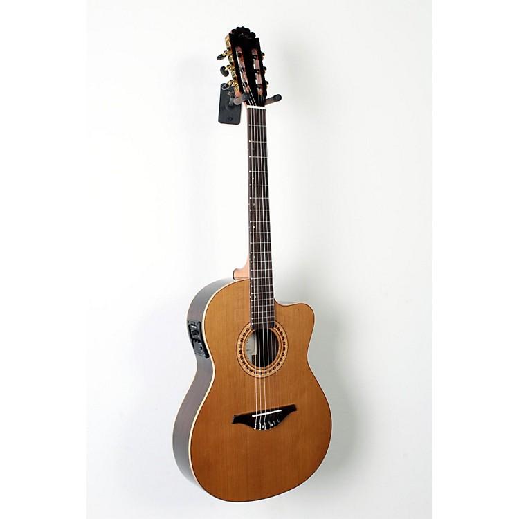 Manuel RodriguezFLMOD500 Flamenco Moderna Acoustic-Electric Nylon StringNatural.,  Walnut B and S, Solid Cedar Top888365842851