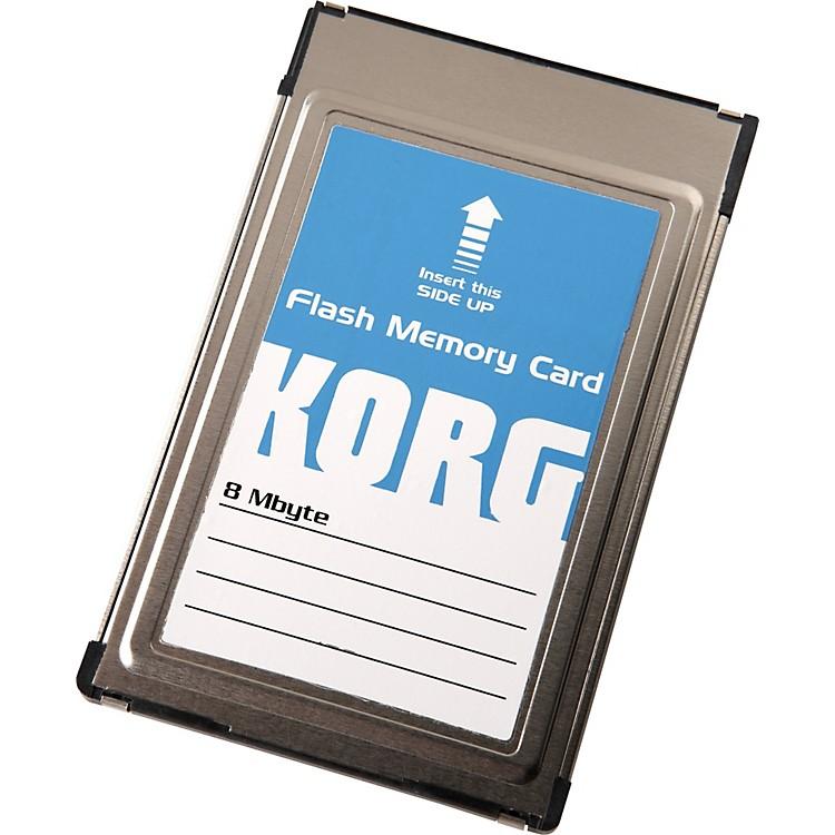 KorgFMC8MB Sampling Flash ROM Card for the PA80