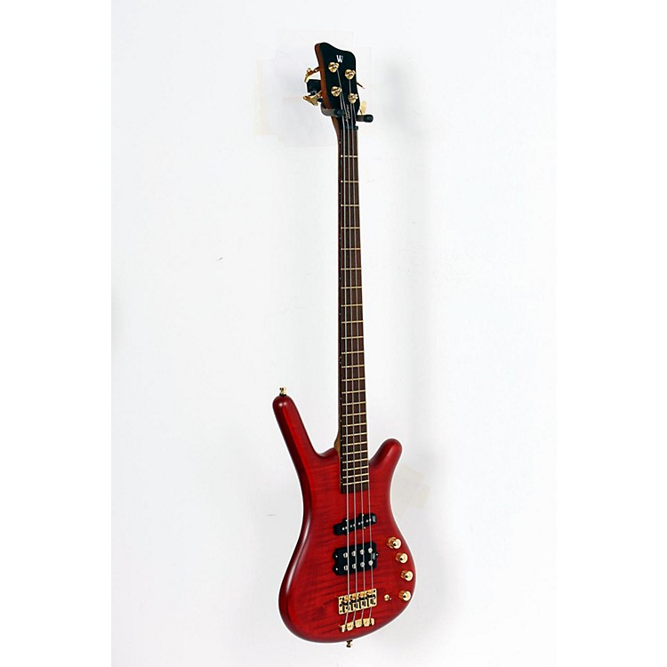 Warwick FNA Jazzman 4-String Bass Burgundy Red 888365137933