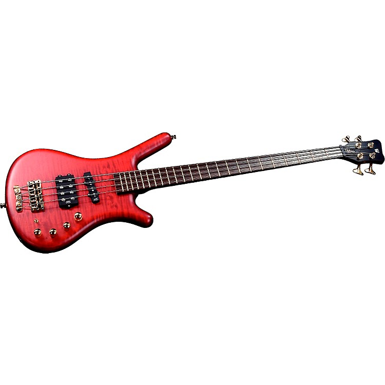Warwick FNA Jazzman 4-String Bass Burgundy Red