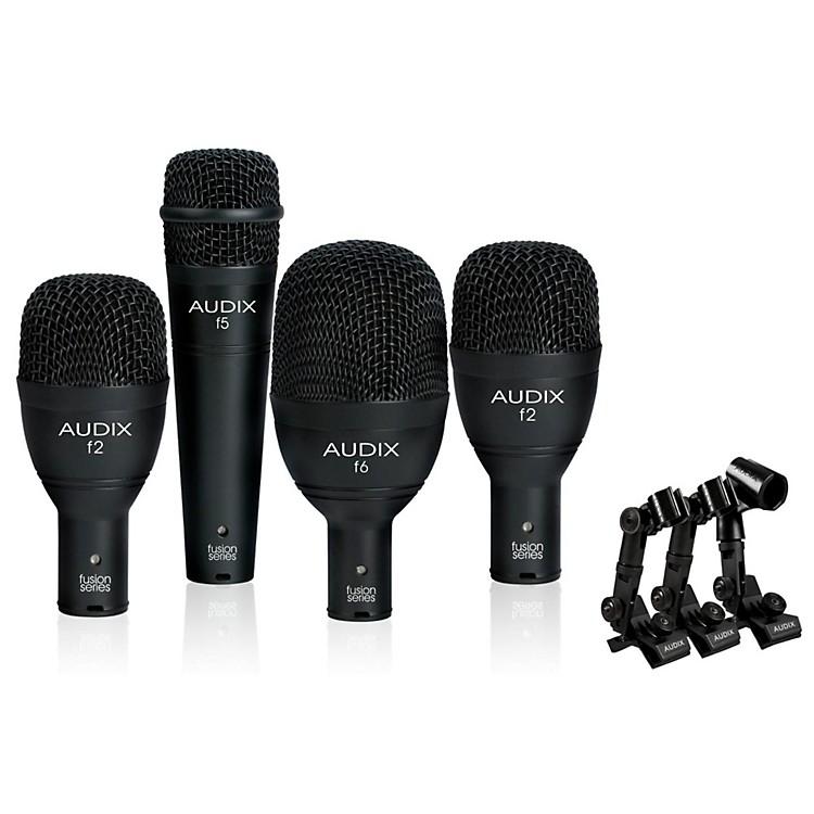 AudixFP4NC 4-Piece Drum Microphone Pack