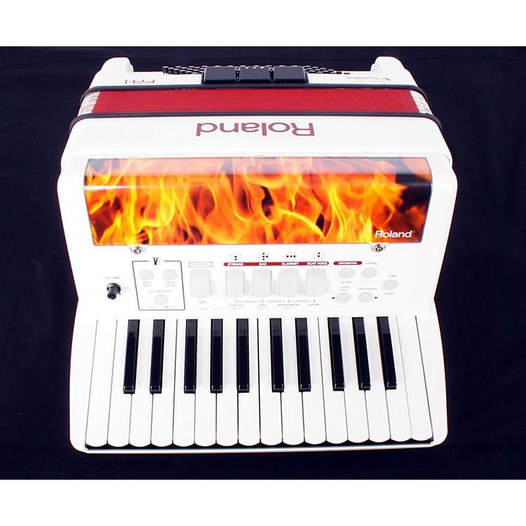 RolandFR-1 V-Accordion Piano or Button TypeWhite888365036236