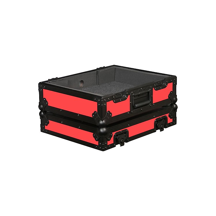 Odyssey FR1200BK Designer Series Turntable Case Red