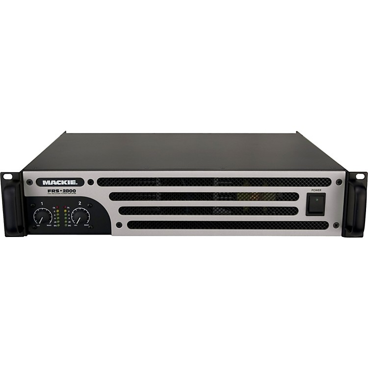 MackieFRS-2800 - 2800 Watt 2-channel Lightweight Power Amplifier