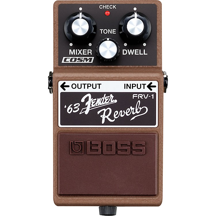 Boss FRV-1 '63 Fender Reverb Guitar Effects Pedal