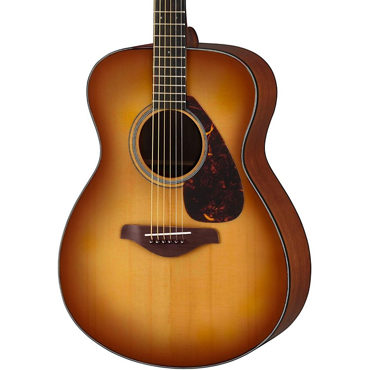 Yamaha FS700S Solid Top Concert Acoustic Guitar Sand Burst