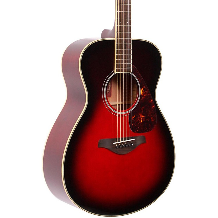 Yamaha FS720S Folk Acoustic Guitar Dusk Sun Red