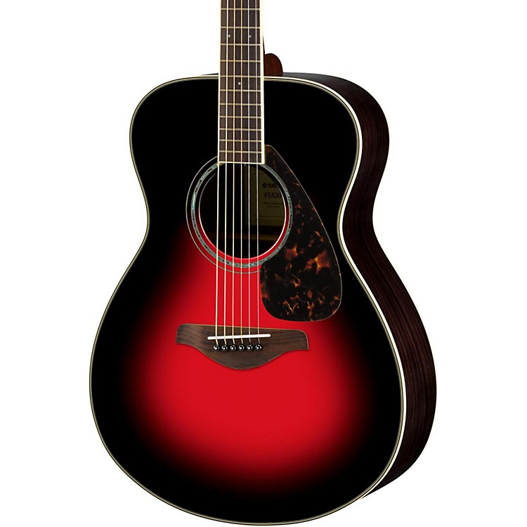 Yamaha FS830 Small Body Acoustic Guitar Dusk Sun Red