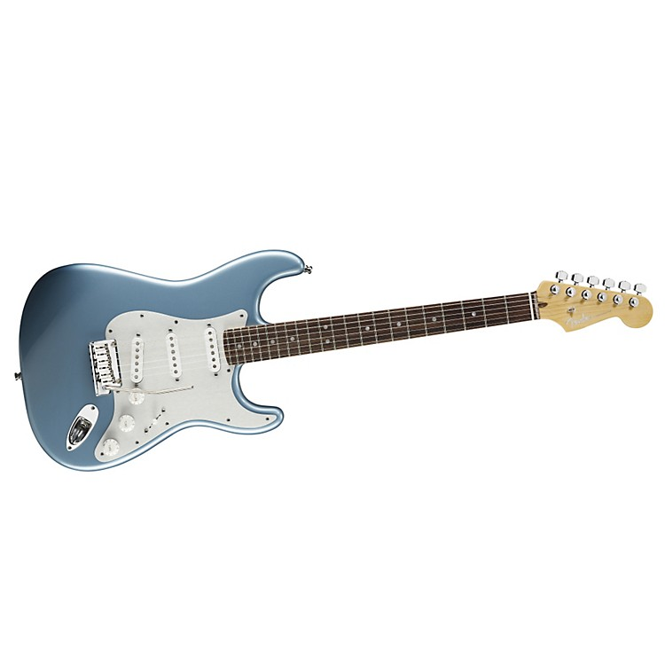 Fender FSR American Deluxe Stratocaster Electric Guitar Ice Blue Metallic