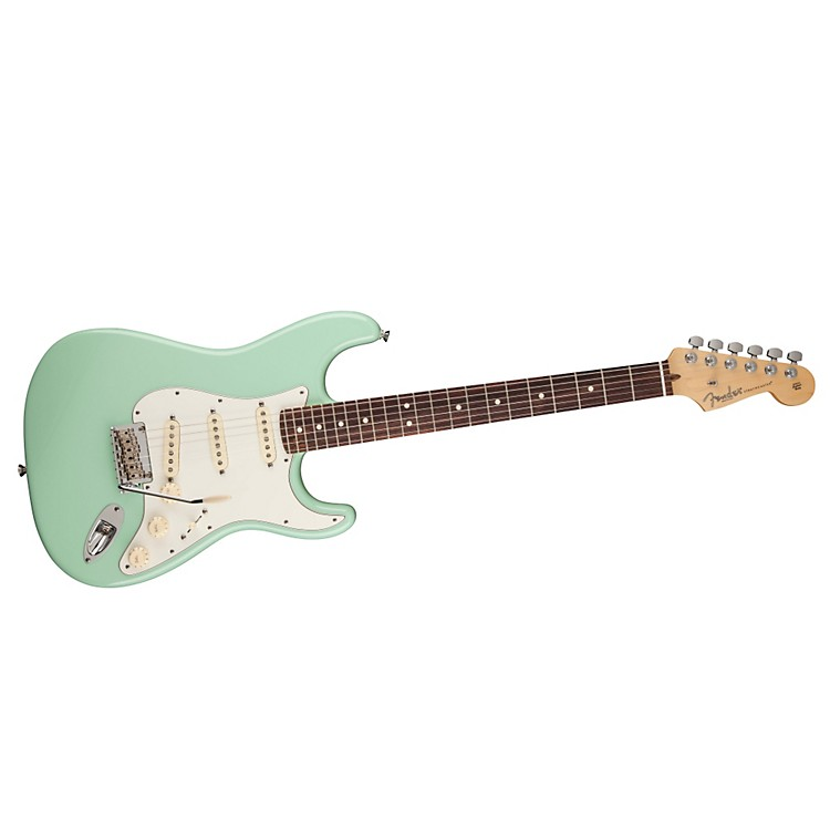 Green Fender Electric Guitars Electric Guitar Surf Green