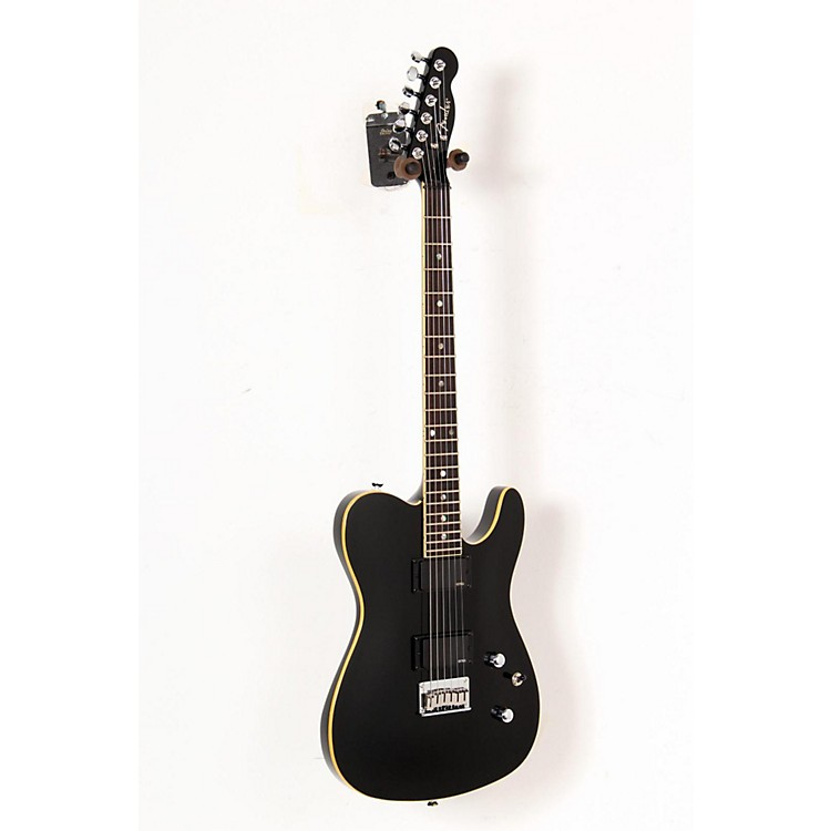 Fender FSR Custom Telecaster HH Electric Guitar with EMG Pickups Black 888365189277