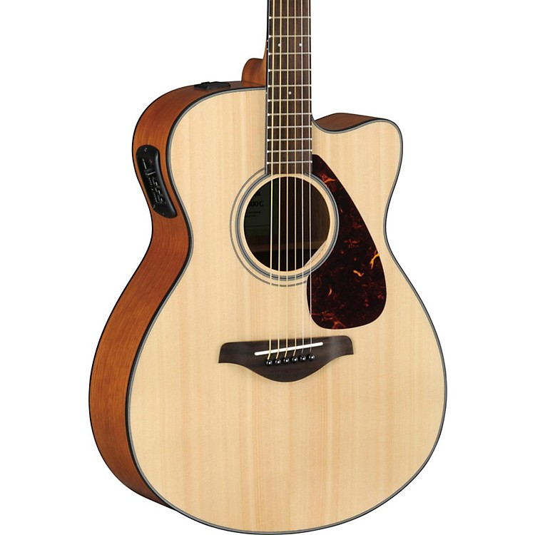 yamaha fsx800c small body acoustic electric guitar music123. Black Bedroom Furniture Sets. Home Design Ideas