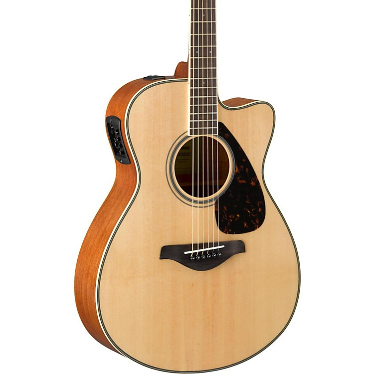 yamaha fsx820c small body acoustic electric guitar music123. Black Bedroom Furniture Sets. Home Design Ideas