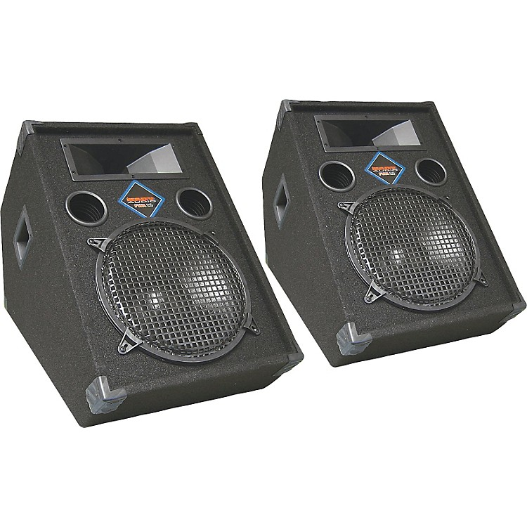 Nady FWA-12 Powered Floor Monitor Pair