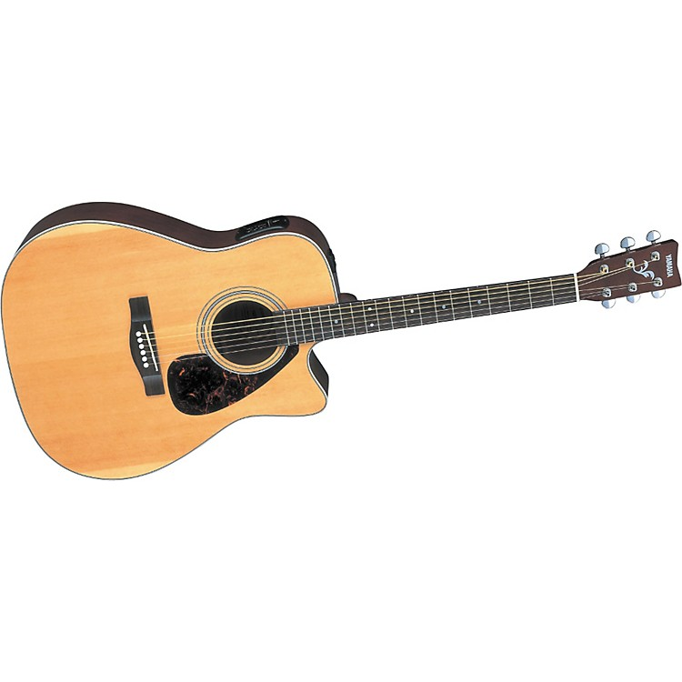 Yamaha FX370C F SERIES Cutaway Acoustic-Electric Black