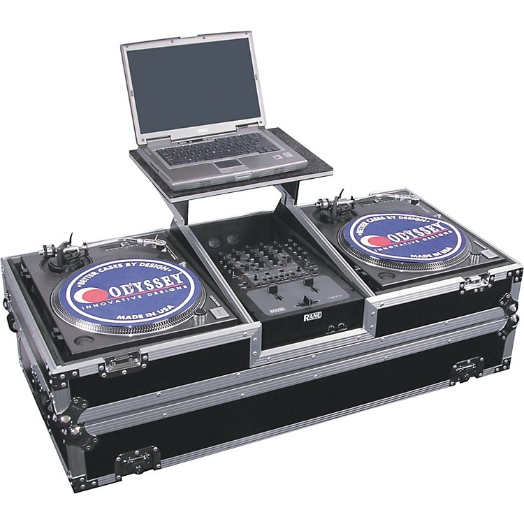OdysseyFZGSBM10W Glide Style DJ Coffin Case