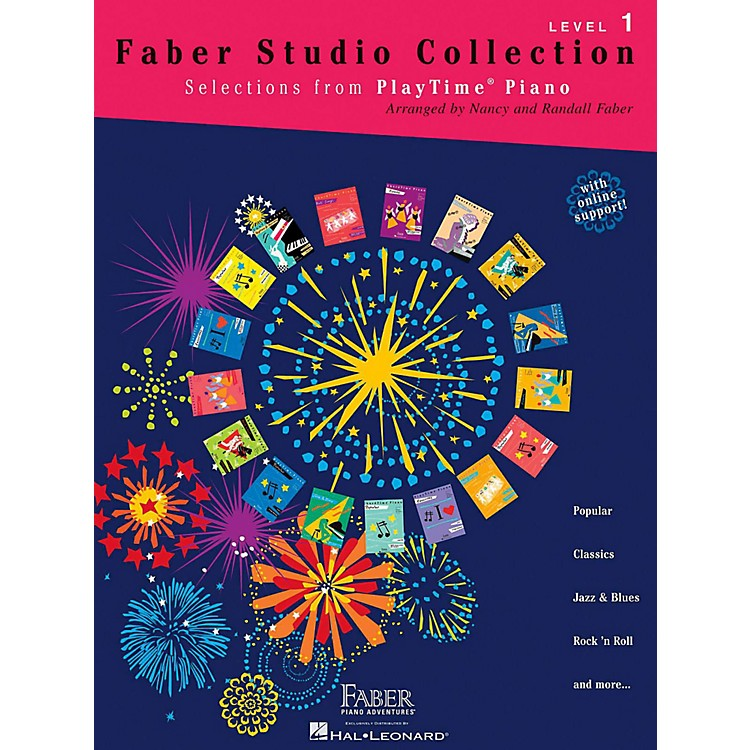 Faber Piano Adventures Faber Studio Collection - Selections from PlayTime® Piano Level 1