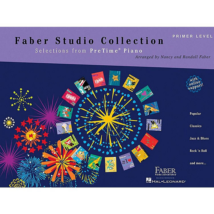 Faber Piano AdventuresFaber Studio Collection - Selections from PreTime Piano Primer Level