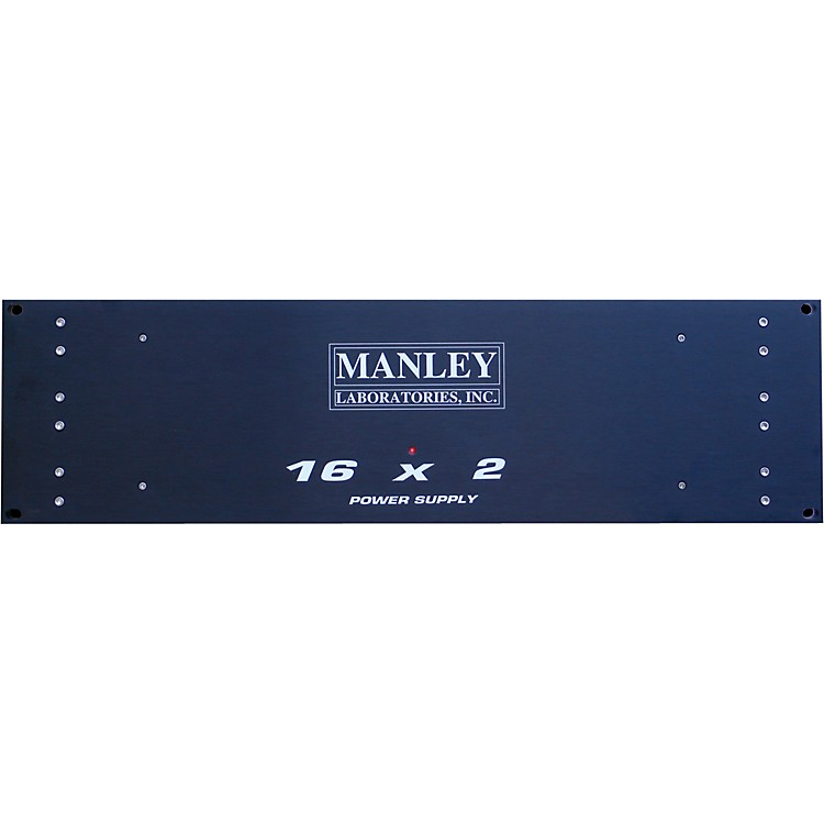 ManleyFaceplate for Rackmount Power Supply