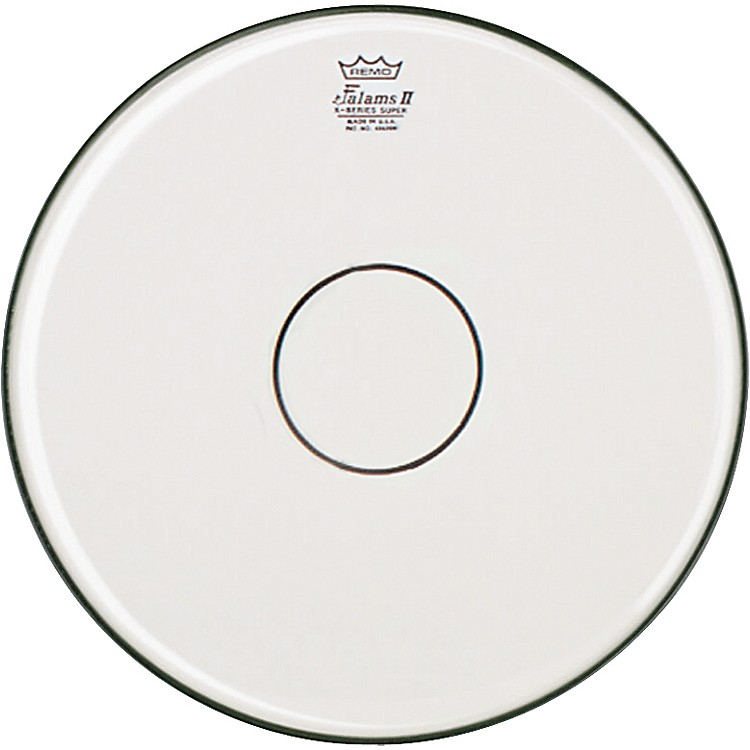 Remo Falam K-Series Clear Dot Batter Drum Head White 14 in.