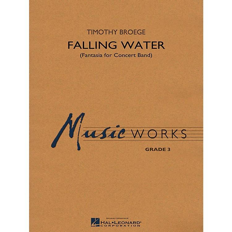 Hal LeonardFalling Water Concert Band Level 3