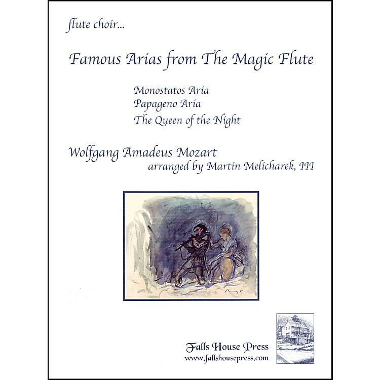 Carl FischerFamous Arias from the Magic Flute Book