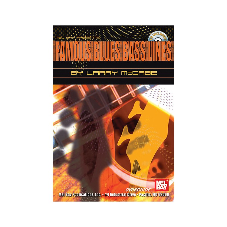 Mel BayFamous Blues Bass Lines QWIKGUIDE Book and CD