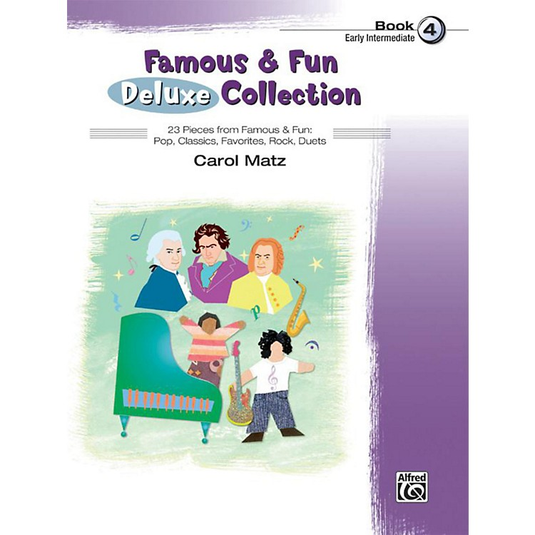 Alfred Famous & Fun Deluxe Collection Early Intermediate Book 4