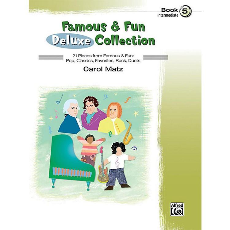 AlfredFamous & Fun Deluxe Collection Intermediate Book 5