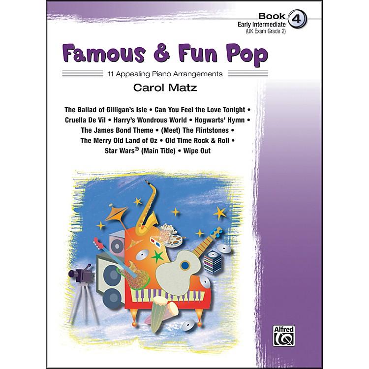 AlfredFamous & Fun Pop Book 4
