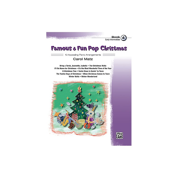 Alfred Famous & Fun Pop Christmas Book 4