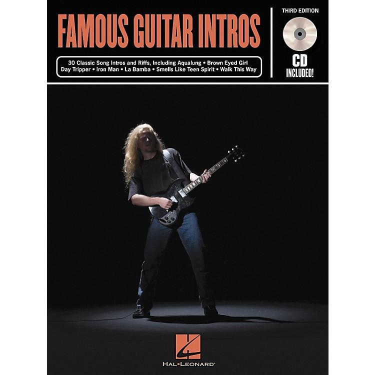 Hal LeonardFamous Guitar Intros - 3rd Edition (Book)