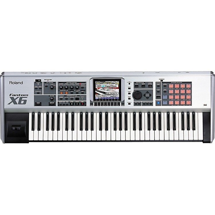 RolandFantom-X6 61-Key Sampling Workstation
