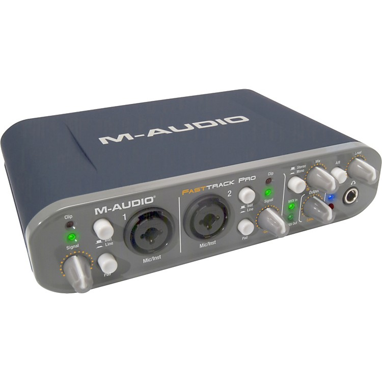 M-Audio Fast Track Pro Mobile USB Audio/MIDI Interface
