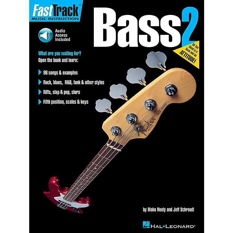 Hal Leonard FastTrack Bass Method Book 2 (Book and CD)