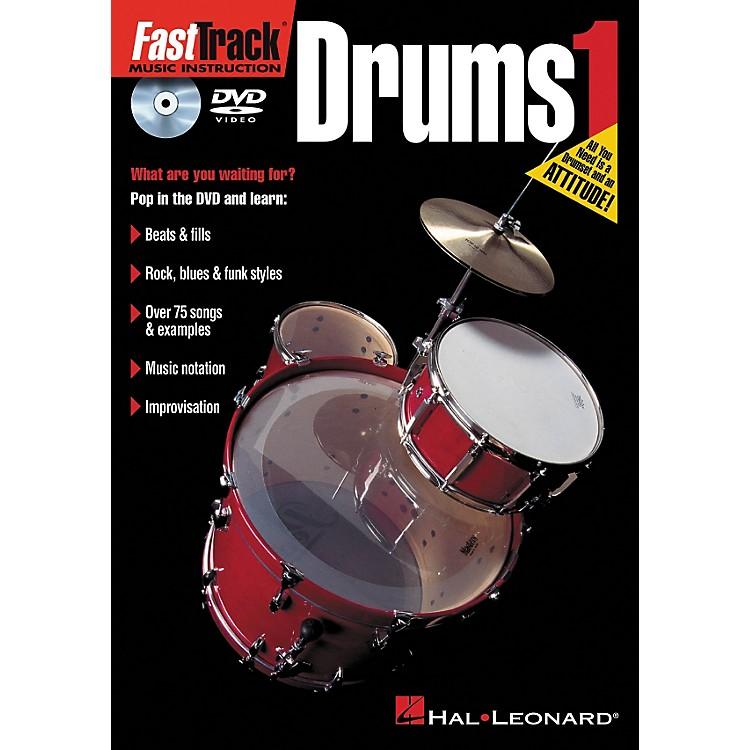Hal LeonardFastTrack Drums 1 (DVD)