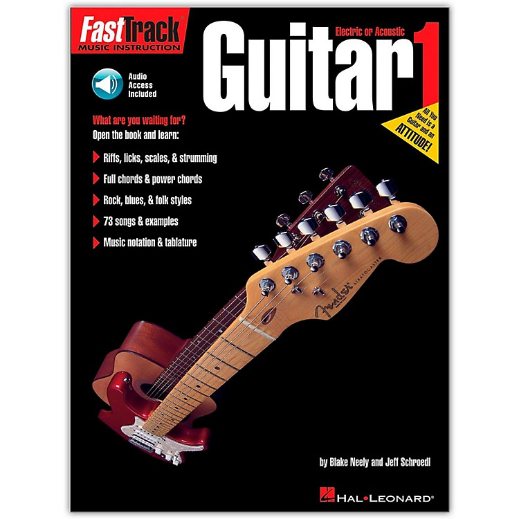 Hal Leonard FastTrack Guitar Method Book 1 CD Package