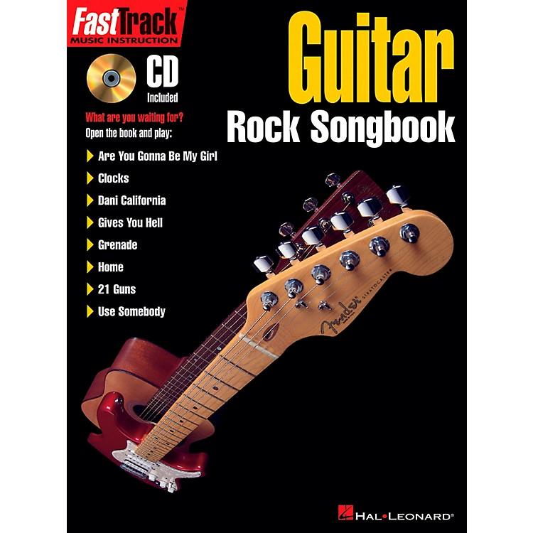 Hal LeonardFastTrack Guitar Rock Songbook Book/CD