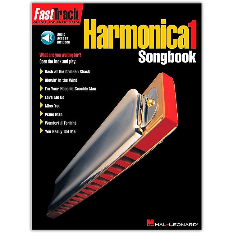 Hal LeonardFastTrack Harmonica Songbook - Level 1 Book with CD